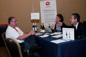 Meeting the trade at the Global Wine and Spirit Trade Show