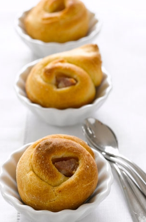 Small Brioche with Morteau  Sausage